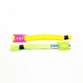 Pro Festivals Bracelets RFID Tissus Personnalisés
