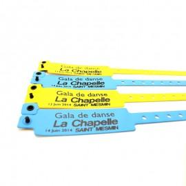 Pro Festivals Bracelets Vinyle Personnalisés