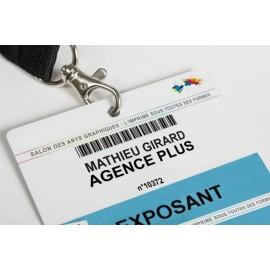 Badges Pass PVC XXL Personnalisés