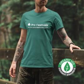 T-shirts Eco responsalbe Personnalisés Sérigraphie 1 couleur