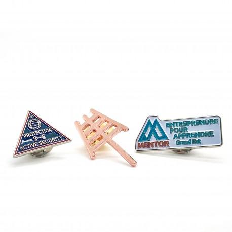 Pin's Personnalisable en Métal OU Pin's Sur Mesure en Métal