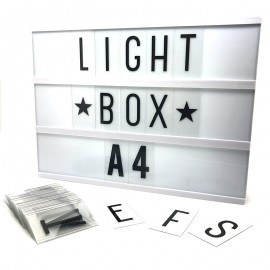 Light Box A4