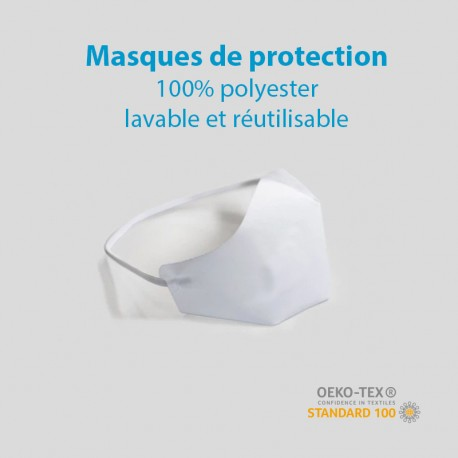 Masques de Protection 100% polyester
